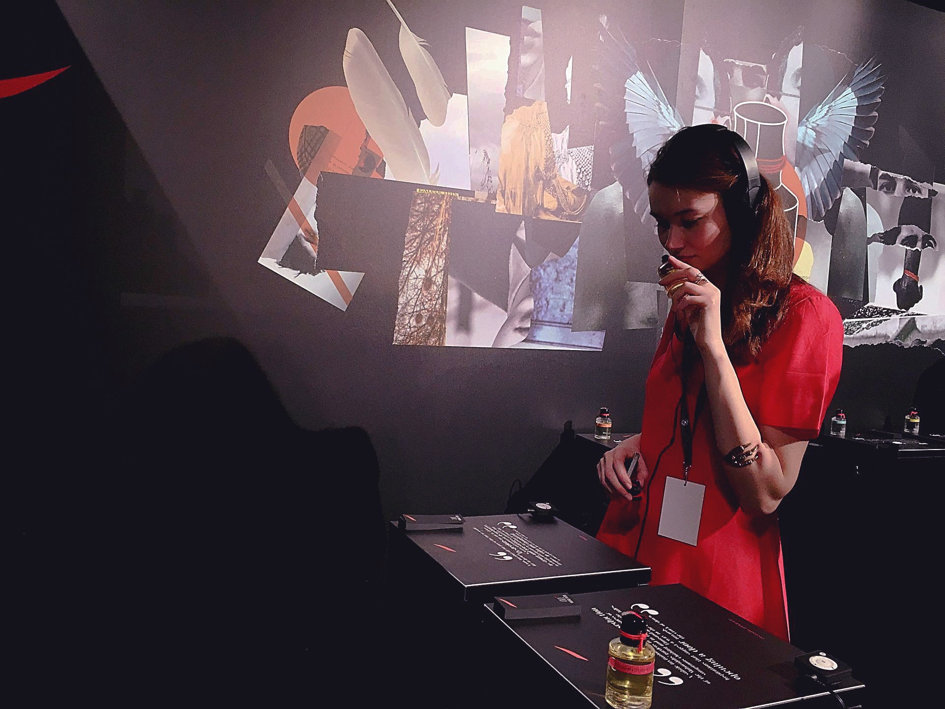Mokamusic multi-sensorial project music and scent