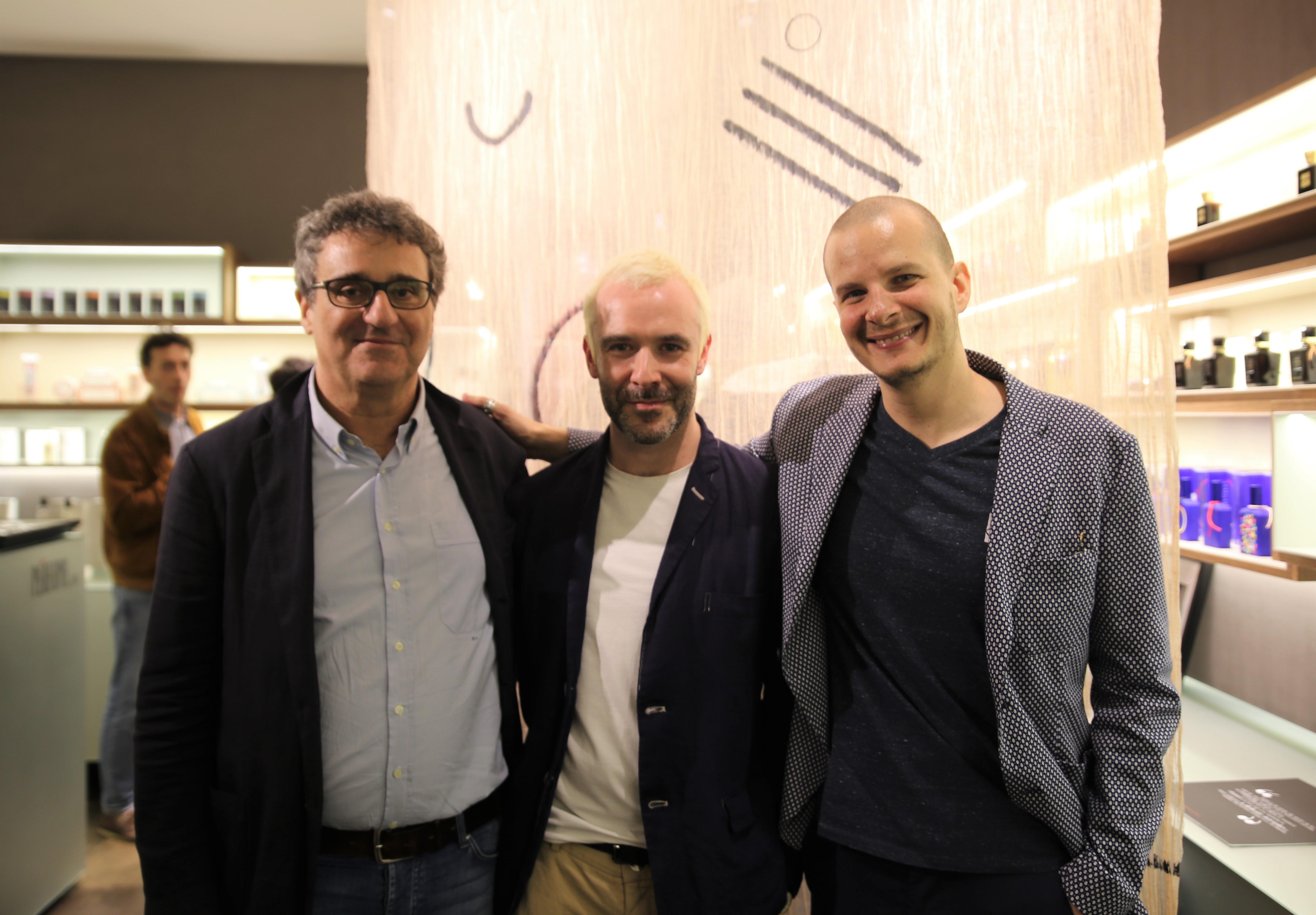 Philip Abussi Silvio Levi Nicola Gobbetto Milan Design Week